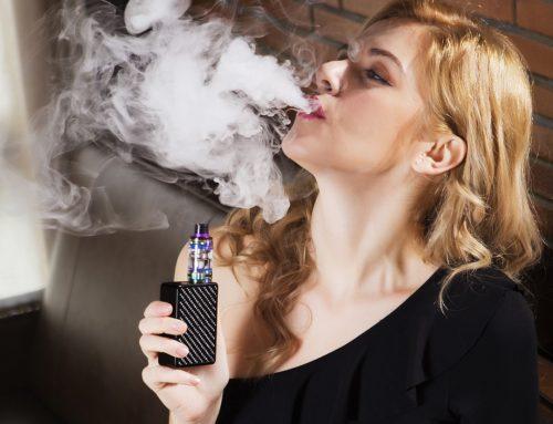 Cigarro eletrônico: Apresentam riscos e não ajudam na diminuição da dependência do cigarro tradicional!