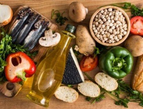 Dieta mediterrânea!
